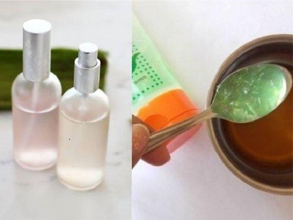 Easy DIY Aloe Vera Face Mists