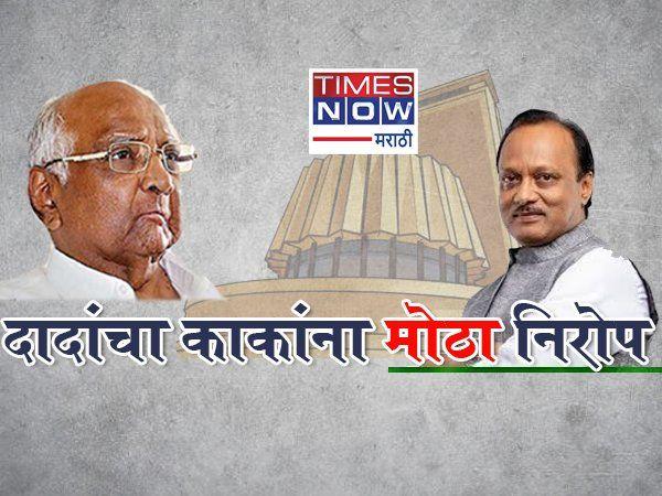 vidhansabha election 2019 ajit pawar gave big message to sharad pawar  news in marathi