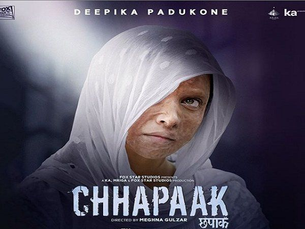 deepika padukone starrer chhapaak is going slow at the box office check thefilm's first weekend collection vikrant massey meghna gulzar