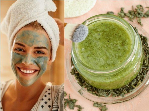 Green Tea Face Packs