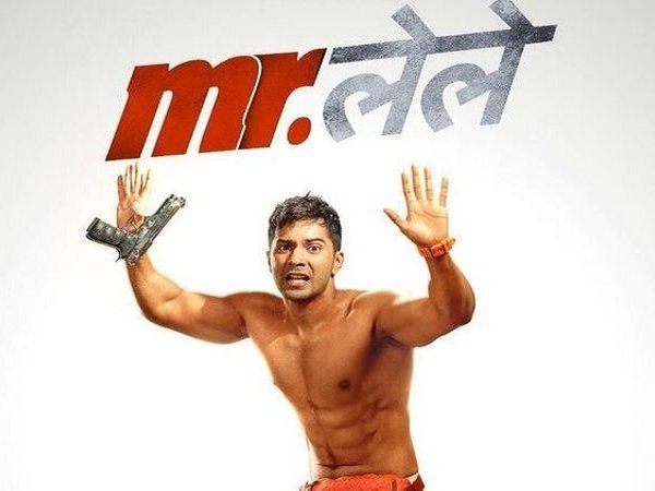 check out the hilarious first look poster of upcoming bollywood film mr lele featuring varun dhawan karan