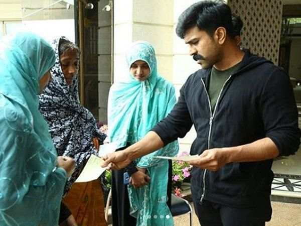 south superstar ram charan's charity for a deceased fan's family is all the humanity we need