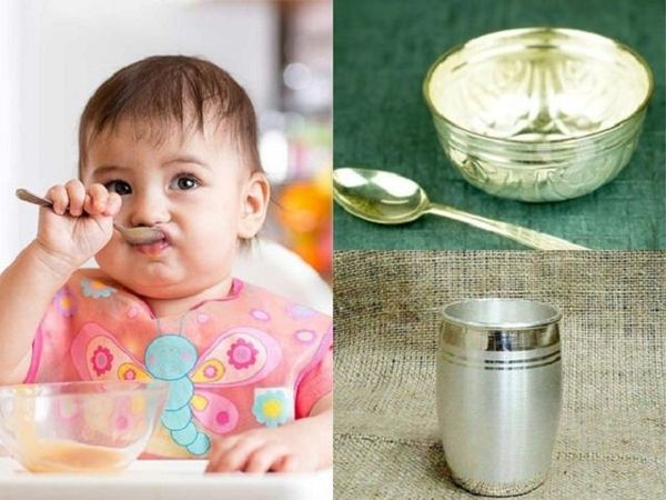 Health Benefits Of Feeding Babies In Silver