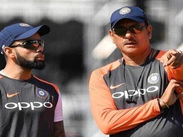 team india coach Ravi Shastri  Virat Kohli