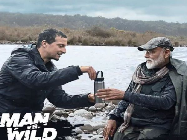 Prime Minister Narendra Modi on Man vs Wild show
