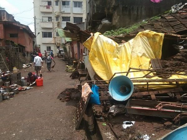 Kolhapur Rain flood impact photo