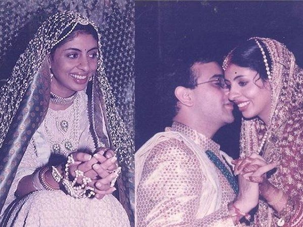 shweta bachchan rare marriage pictures