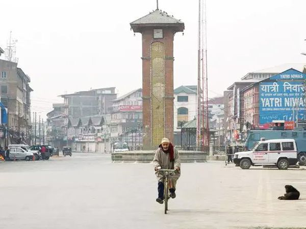 Shrinagar Lal Chowk  file photo