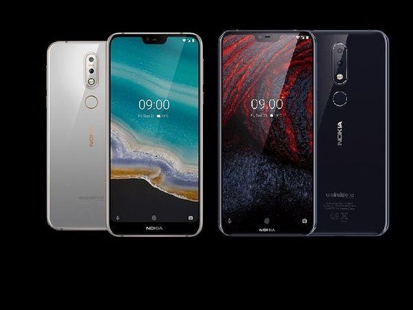 Nokia 7.1, Nokia 6.1 plus