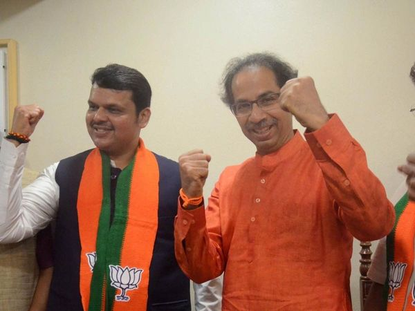 bjp ready to give some important portfolio shiv sena but not chief minister post sources vidhan sabha election result 2019